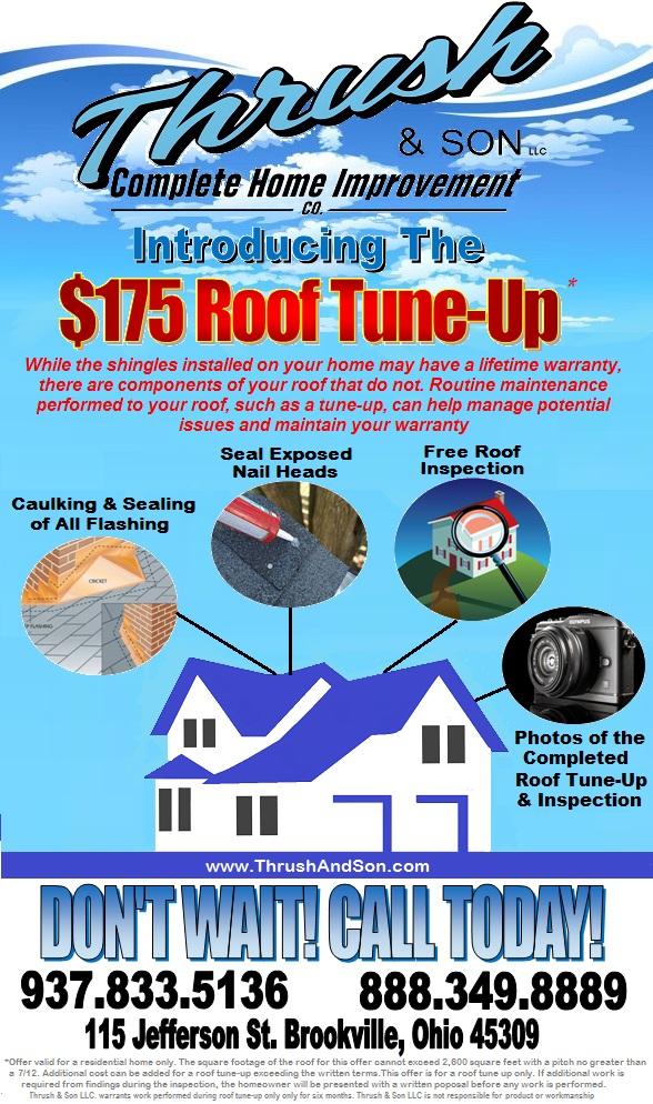 Thrush Roof Tune Up