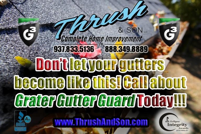 Grater Gutter Guard - Thrush & Son